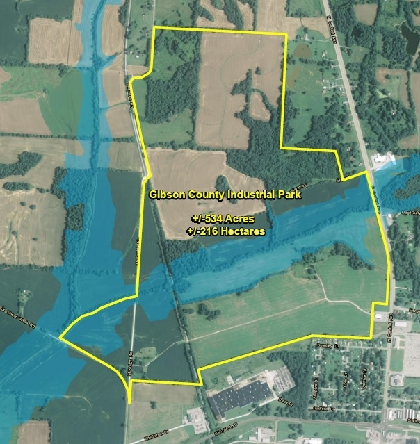 Gibson County Industrial Park | 550 acres