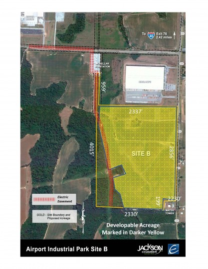 Airport Industrial Park, Site B-Select Tennessee | 115 acres