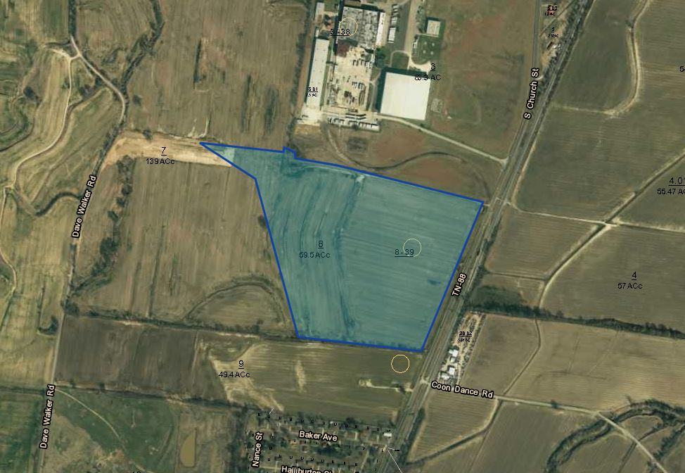Beech Bluff Industrial Site | 59 acres