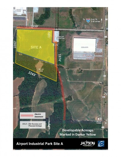 Airport Industrial Park-Site A-Select Tennessee | 103 acres