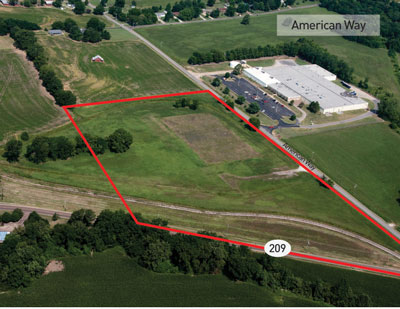 American Way Site | 21 acres