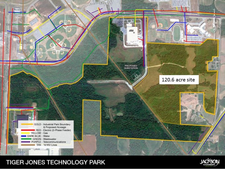Tiger Jones Technology Park-Enterprise Data Center | 121 acres